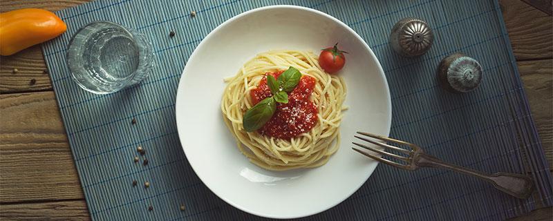 Primeros platos pasta espagueti