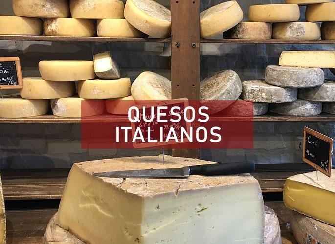 mejores quesos Italianos para acompañar la pasta